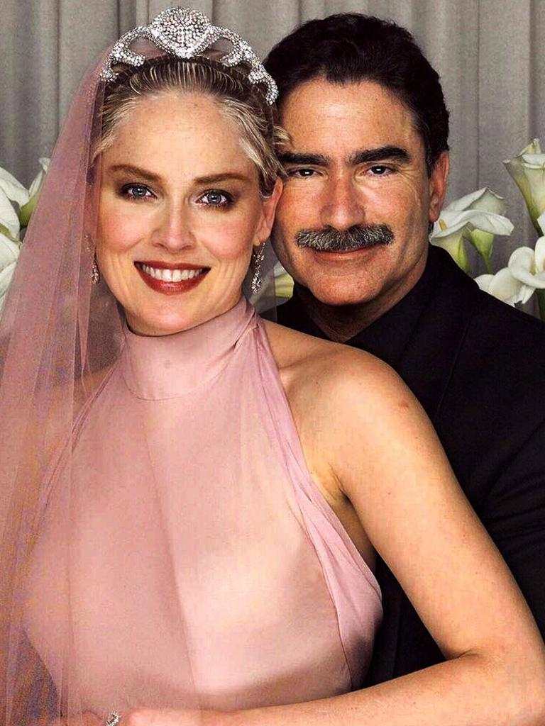 Sharon Stone married newspaper editor Phil Bronstein in 1998. They split in 2003. Picture: Supplied