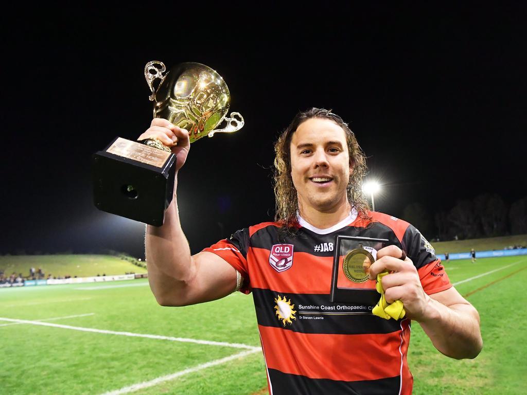 Decorated Sunshine Coast star and 2019 grand final winner Thomas Murphy has signed with Noosa Pirates. Photo Patrick Woods / Sunshine Coast Daily