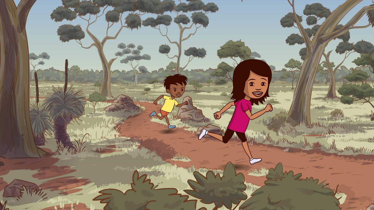 Miranda Tapsell and Deborah Mailman voice the lead characters in the NITV animation Little J and Big Cuz.