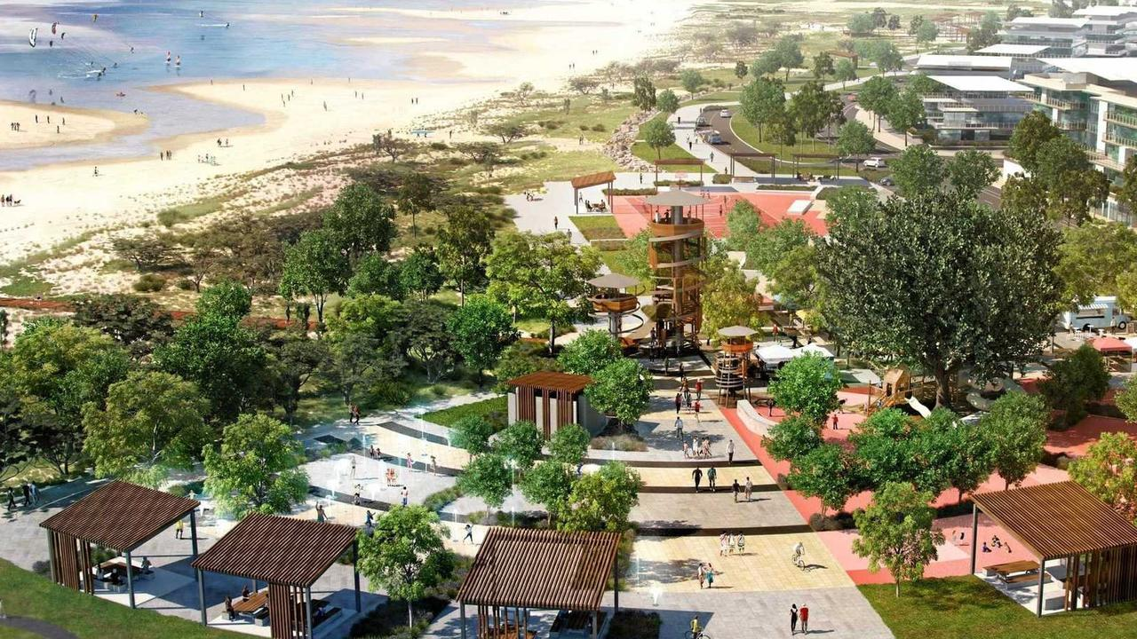What the Mackay Waterfront Priority Development Area (PDA) might look like.