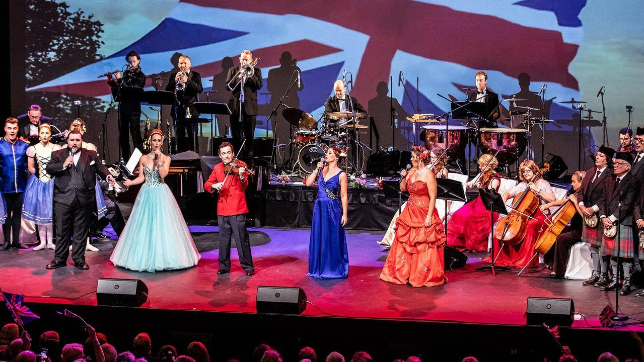 A Valentine's Evening at The Proms Spectacular at HOTA is a salute to the famous BBC Proms Concerts of London's Royal Albert Hall, filled with top-class musical talent.