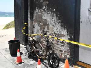 Arson damage bill piles up for surf club