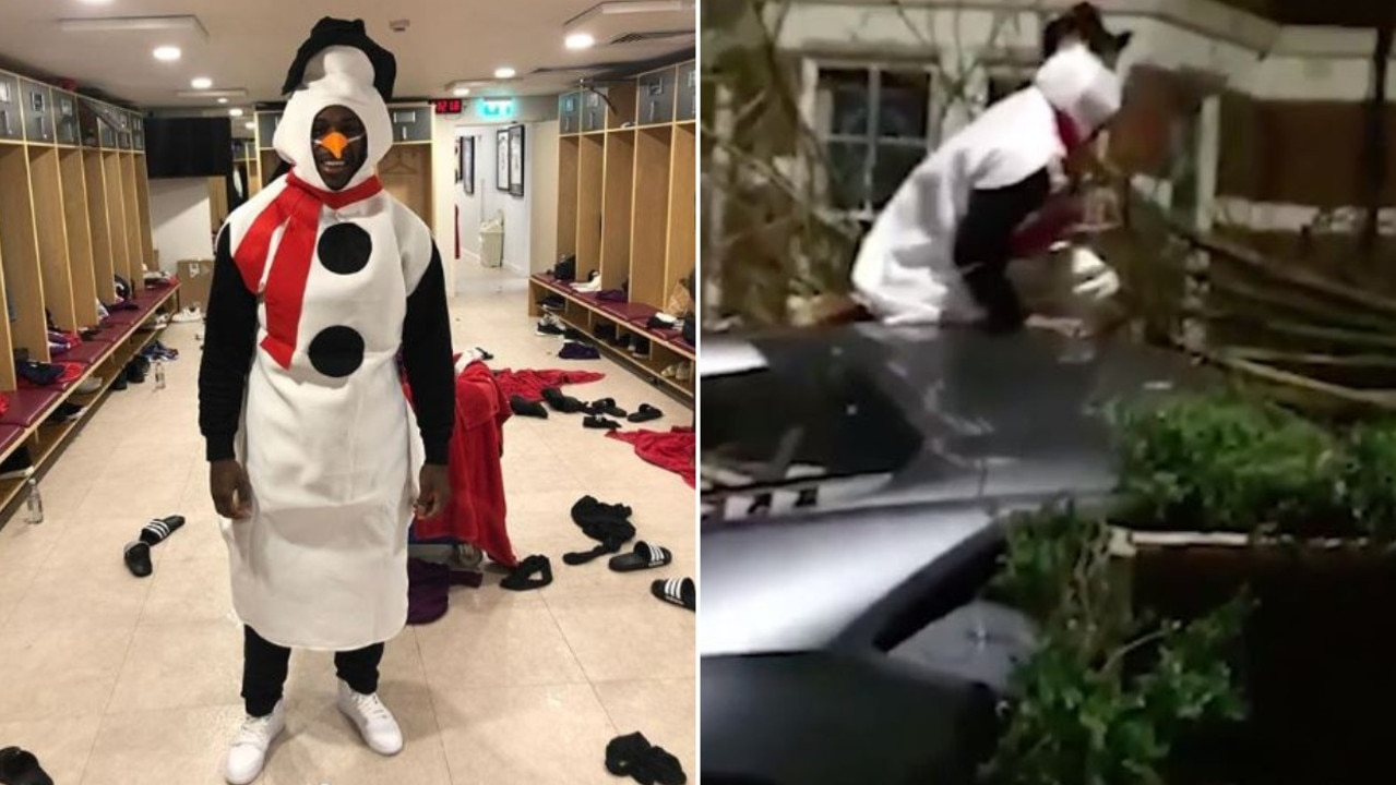 A zero-tolerance policy has been invoked after Premier League's Michail Antonio crashed his supercar into a house on Christmas Day, dressed as a snowman.
