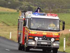 Fireys respond to backyard blaze in mining town