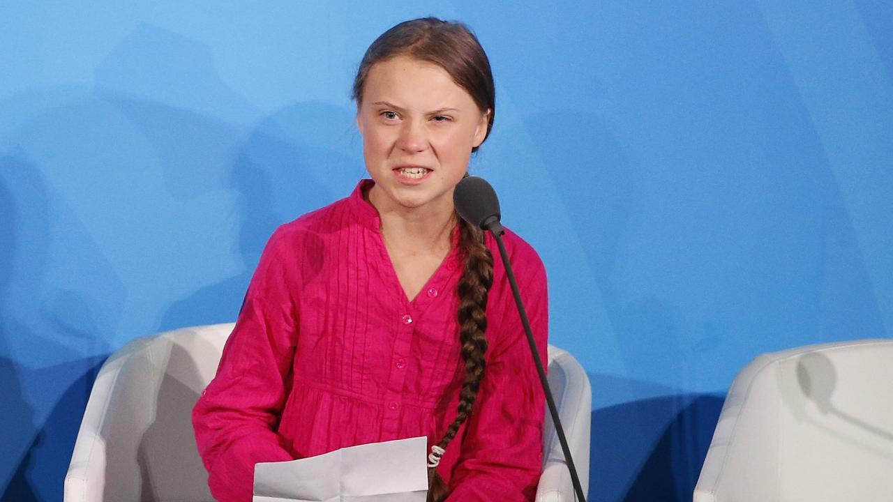 "Environmental activist Greta Thunberg finds the trolls ""hilarious"". Picture: AP/Jason DeCrow)"