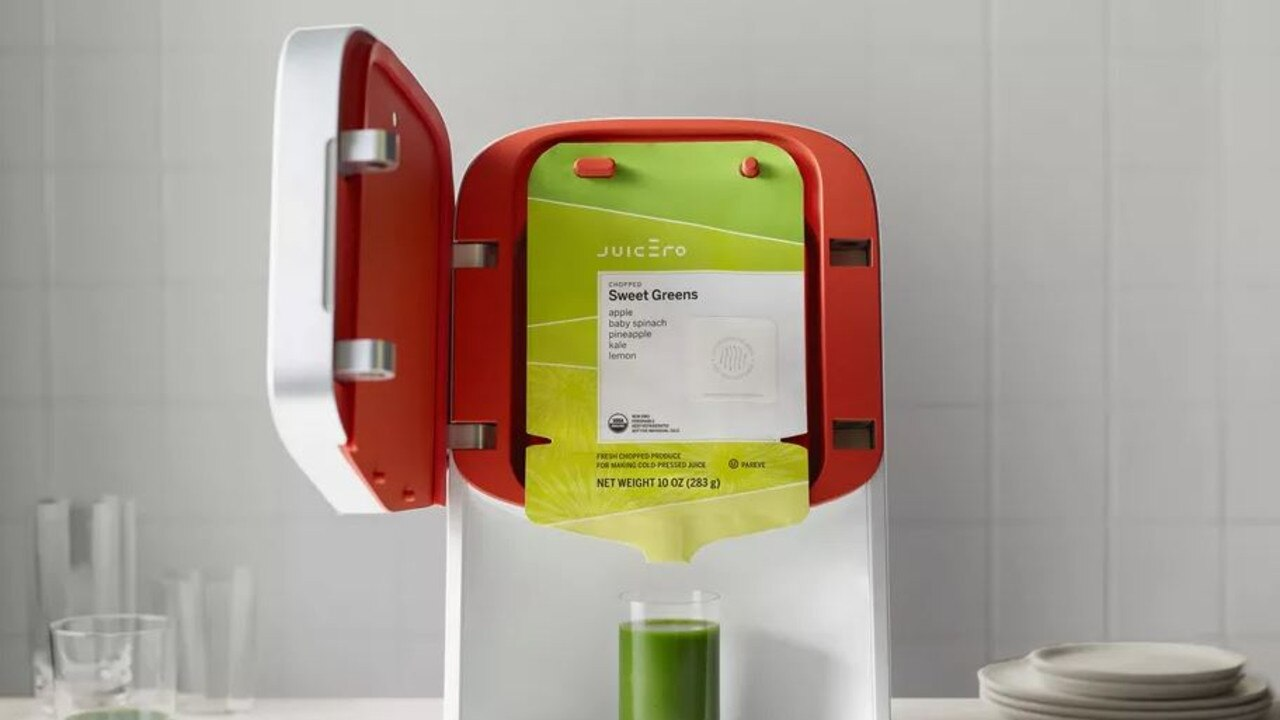 The Juicero Press was designed to squeeze juice out of specially made bags of fruit and vegetables. The problem? You didn't need the $US699 juicer for that.
