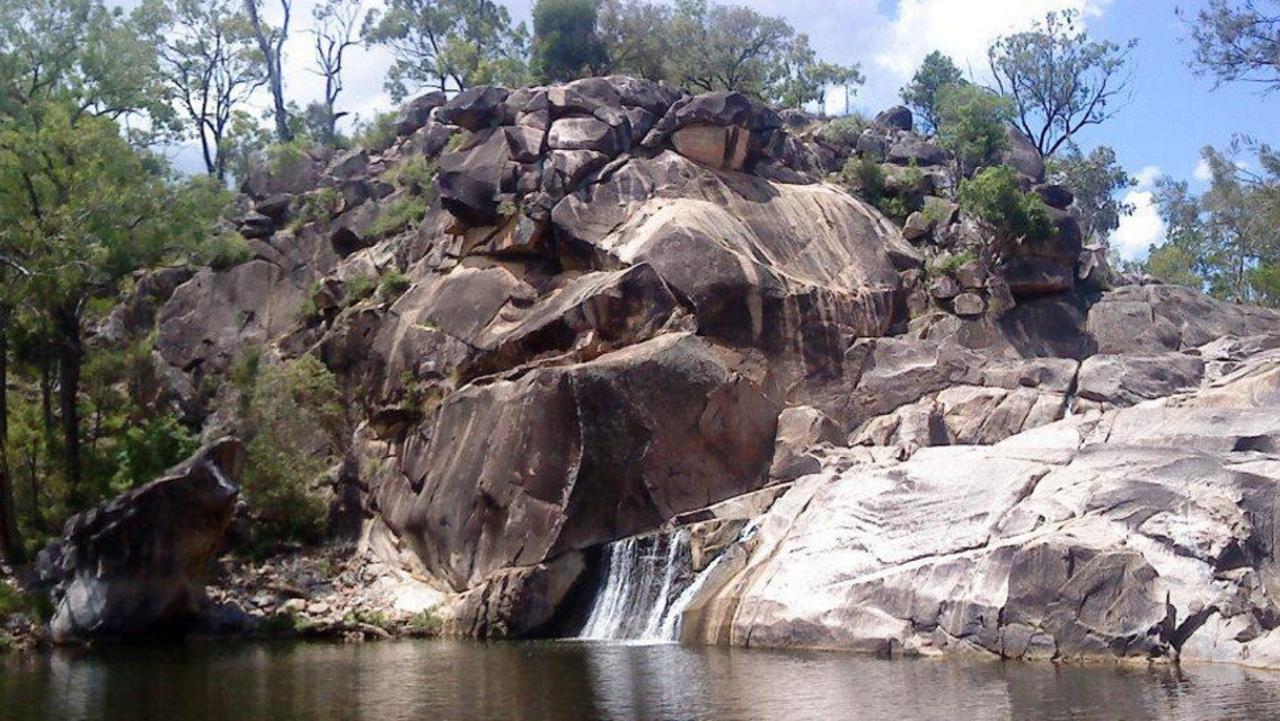 Coomba Falls, Maidenwell Photo: Petra Harris