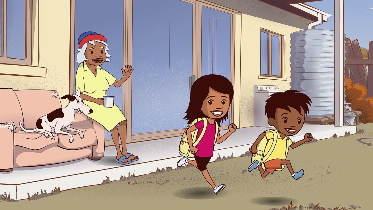 A scene from Little J & Big Cuz.