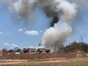 Kingaroy Waste Facility Fire