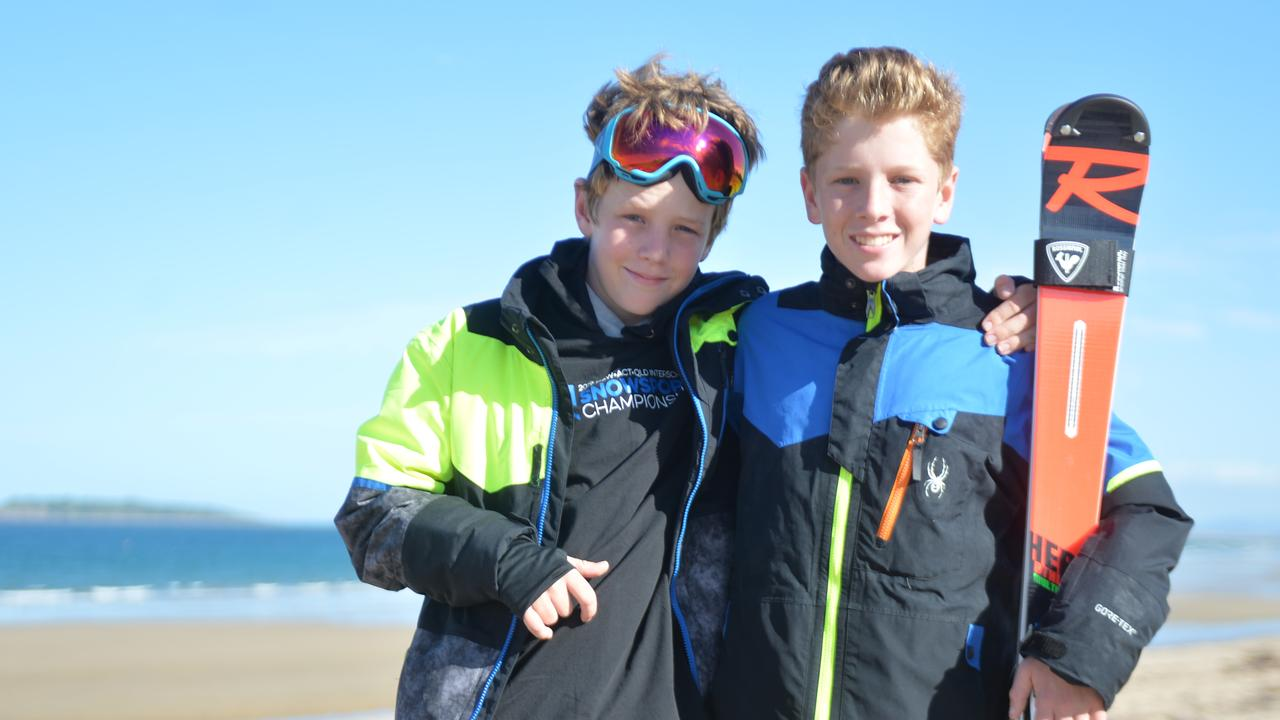 Tristan and Riley Smith picked up an unusual hobby on a family holiday. Now they're taking the winter sports world by storm.