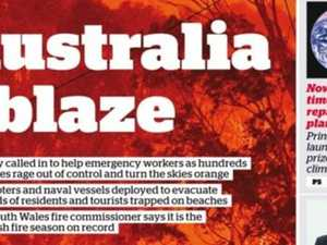 World reacts to Australia's bushfire crisis