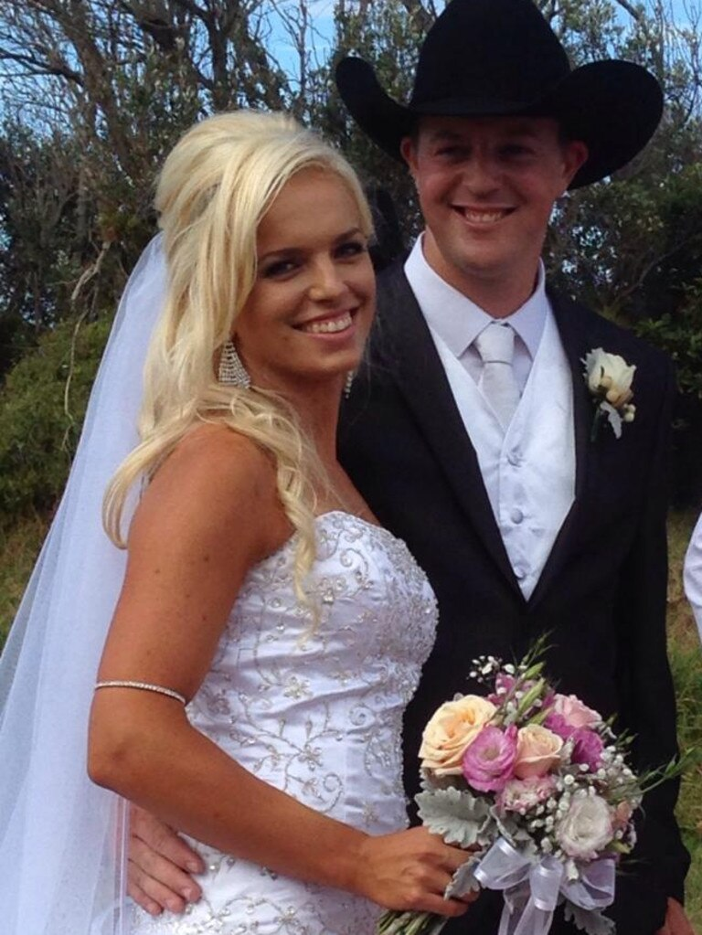 Patrick Salway, pictured with his wife Renee, died in the bushfires. Picture: Facebook