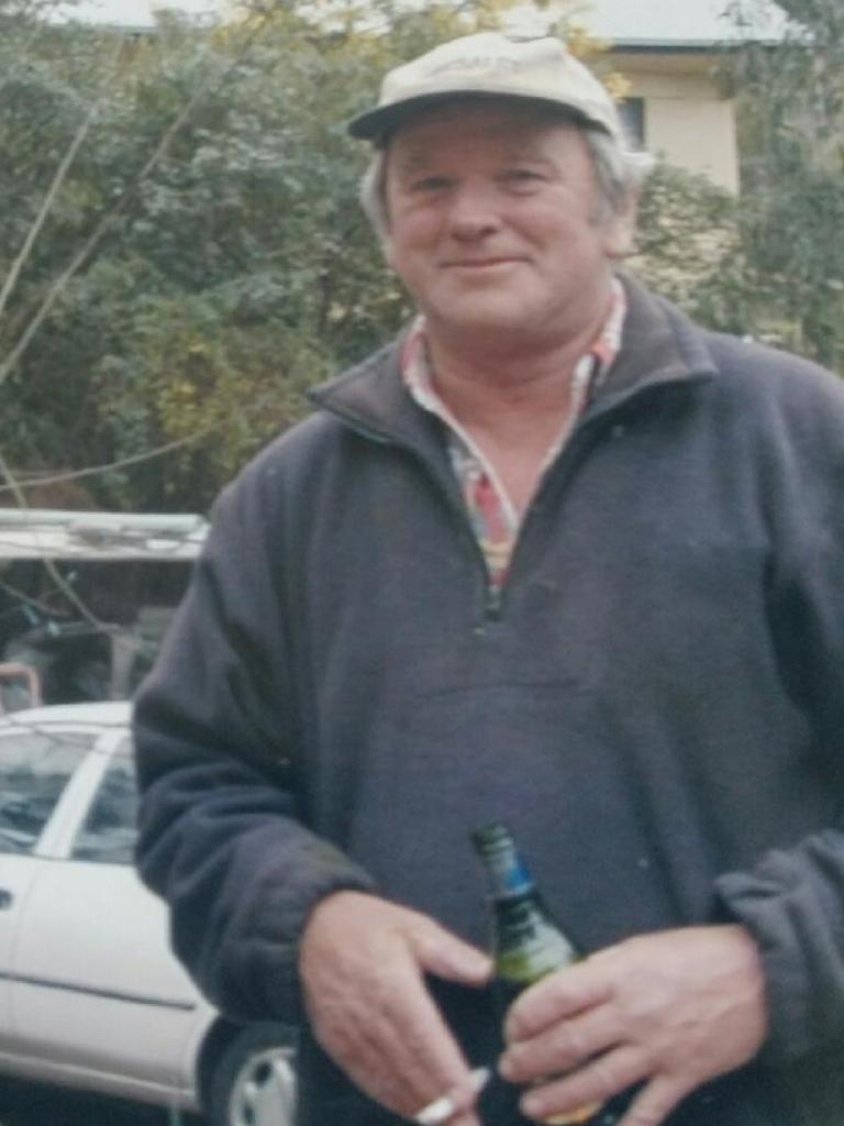 Victorian bushfire victim Mick Roberts.