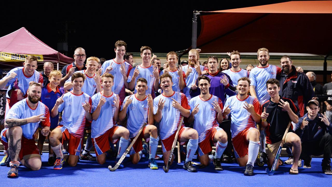 Wanderers men made Rockhampton Hockey history when they won an unprecedented 13th straight A-grade premiership in 2017.