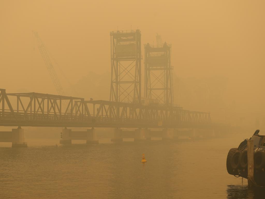 Batemans Bay is in total gridlock after the bushfires. Picture: John Grainger