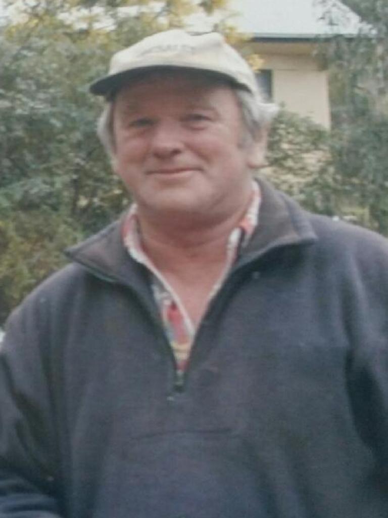 Buchan bushfire victim Mick Roberts