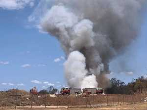 GALLERY AND VIDEO: Crews respond to fire at facility