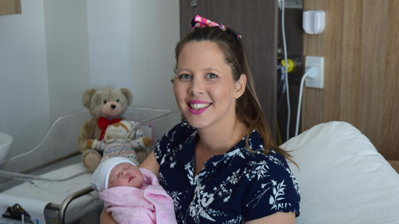 Toni Keogh with Baby Isla Grace born on 30 December 2019.