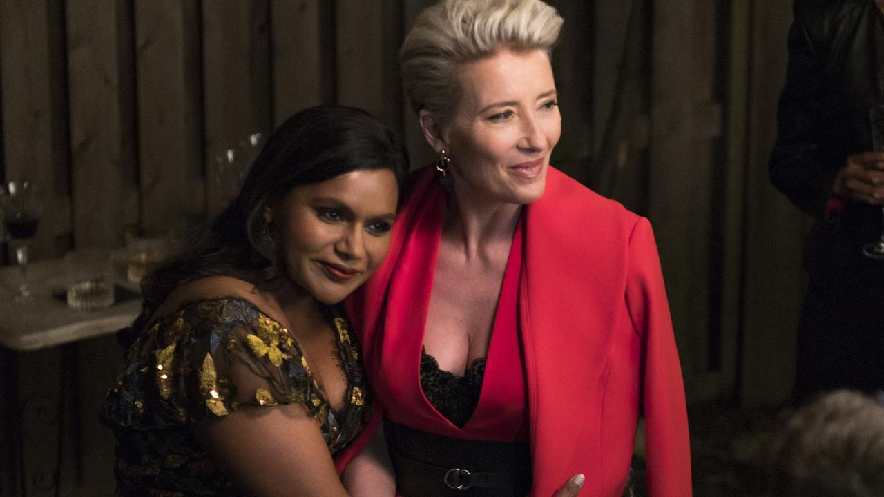 Mindy Kaling and Emma Thompson pair up in this delightful light comedy.