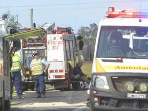 Nine people injured in 'horrific' highway smash