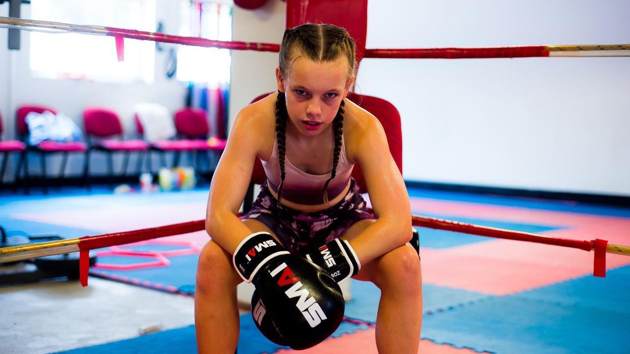 Ruby Pokarier started boxing after being bullied. PHOTO: Katrina Elizabeth