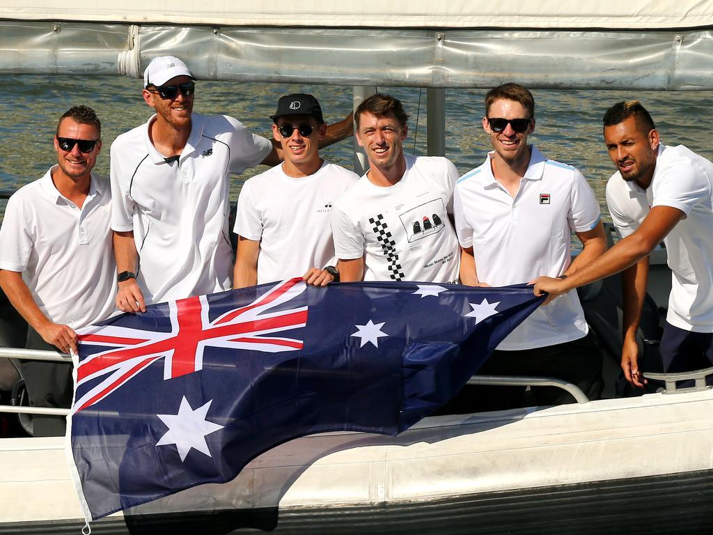 Australia's ATP Cup team.