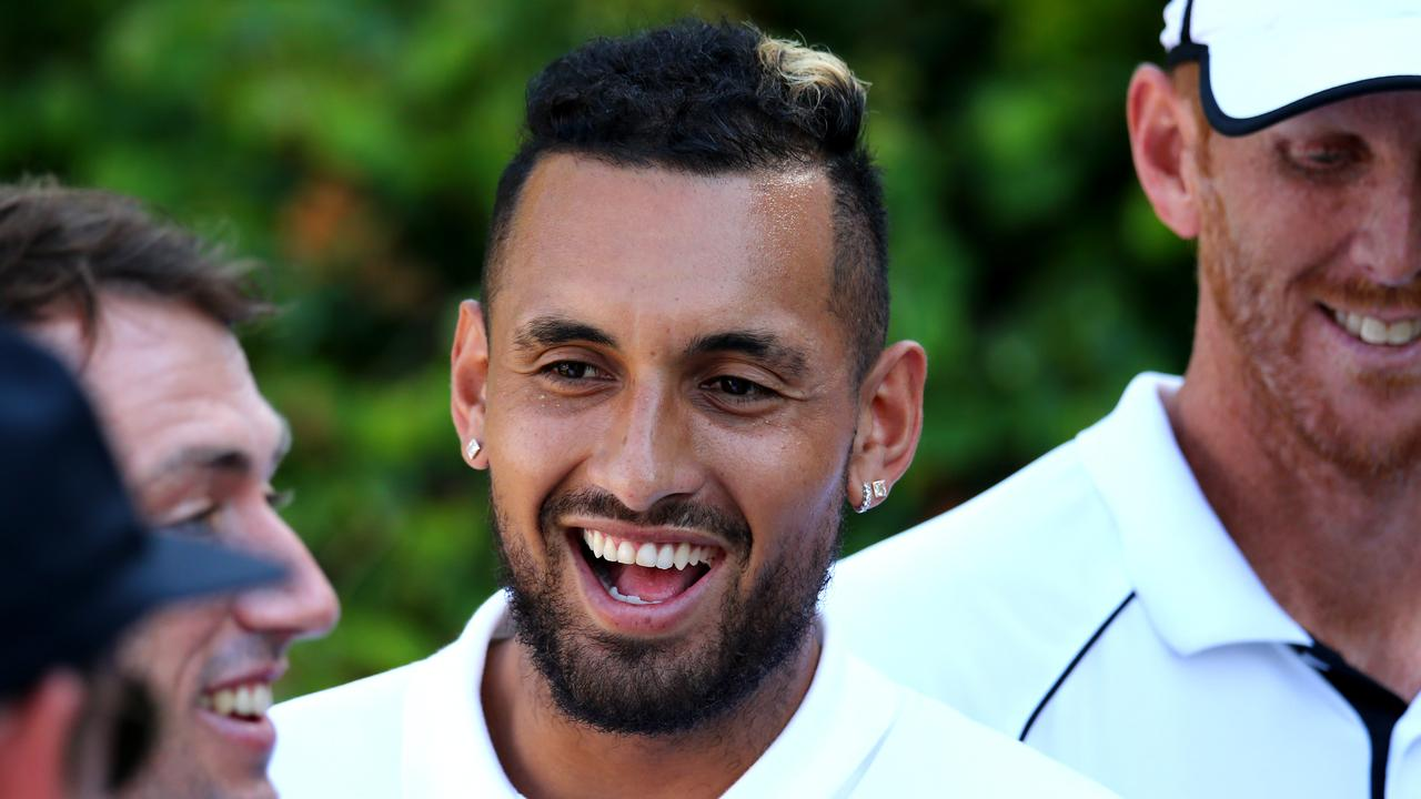 Nick Kyrgios says he doesn't fear Germany. Picture: AAP