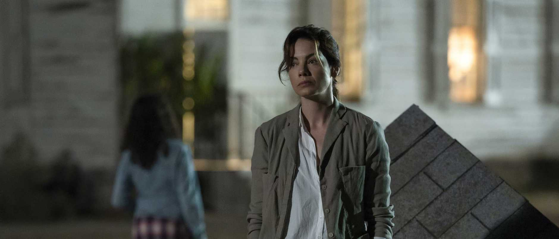 Michelle Monaghan stars in the new Netflix drama Messiah.