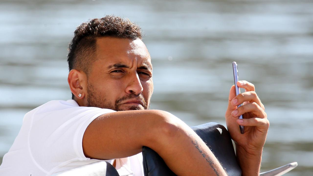 "Ahead of the highly anticipated ATP Cup, Australian tennis star Nick Kyrgios celebrated the new year with ""a couple of frothies""."