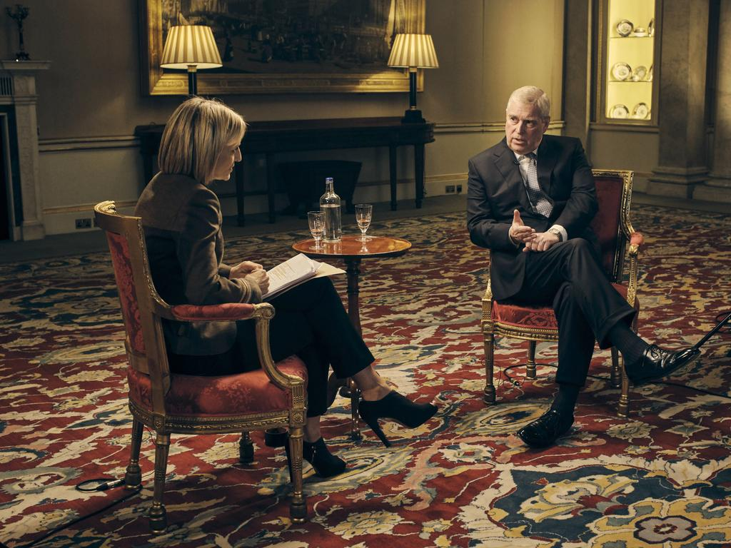 Prince Andrew caused a scandal for the royals with his controversial BBC interview. Picture: AP
