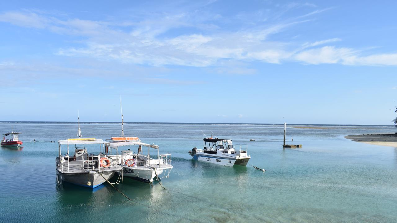 OPPORTUNITY: Day trips from Gladstone to the Southern Great Barrier Reef have been identified as a key way to grow the tourism economy.