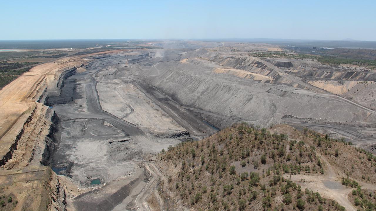 BMA's Saraji Coal Mine near Moranbah.