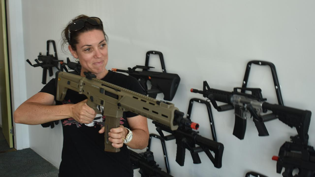 CQ Blasters co-owner Leigh Vickerstaffe ahead of the Tank St store opening