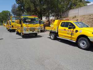 Gold Coast fireys in town to relieve local crews