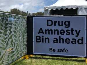 Drug amnesty bins used at Falls Festival