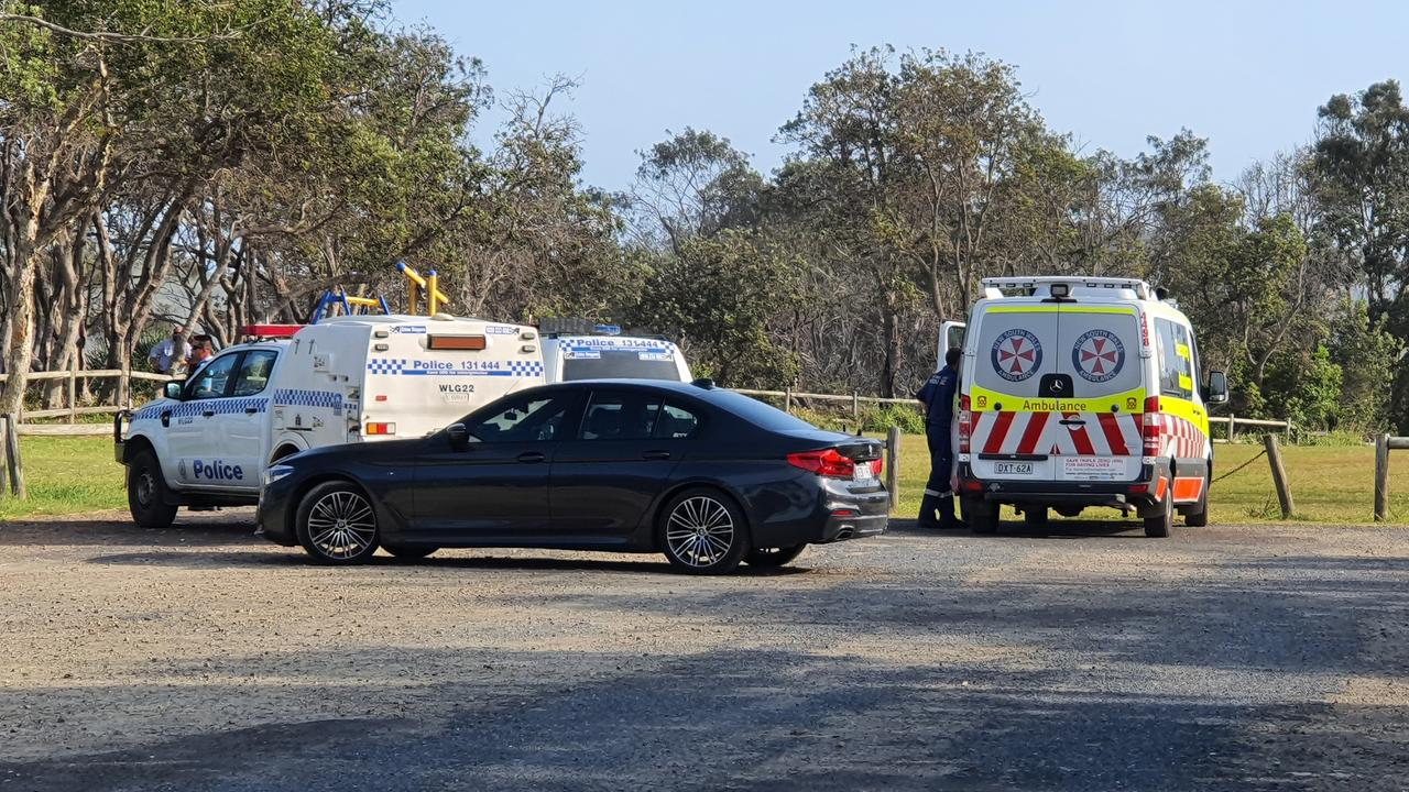 A 50-year-old man has been stabbed with a wine glass at Sandy Beach. Photo: Frank Redward