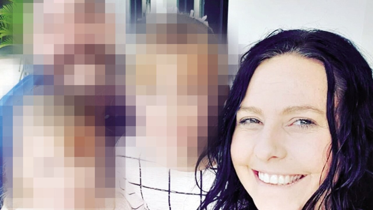 HIGHWAY CRASH: Mother of two Natasha Djerdj pleaded guilty to drink driving after she crashed her car on the Warrego Hwy.