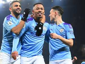 City, Leicester neck and neck in own private battle