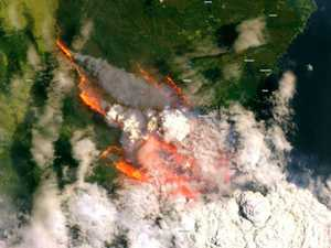 Eyes in the sky show scale of monster blazes