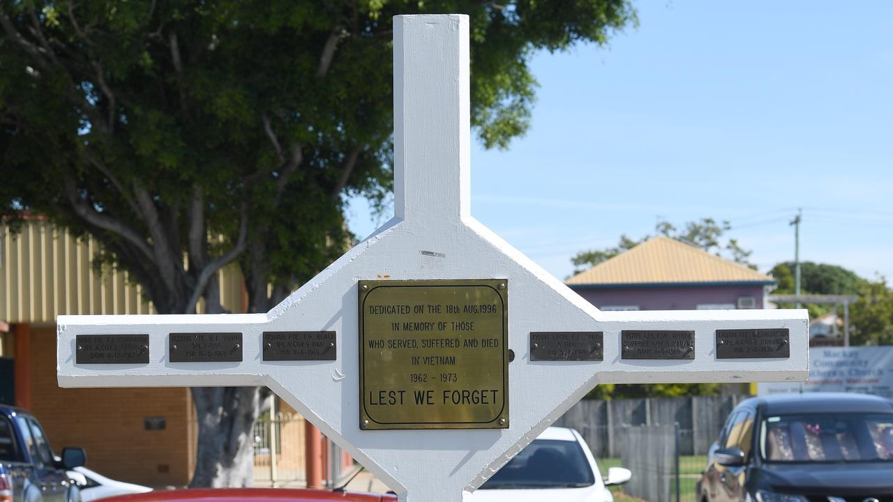 Mackay Vietnam War Memorial.