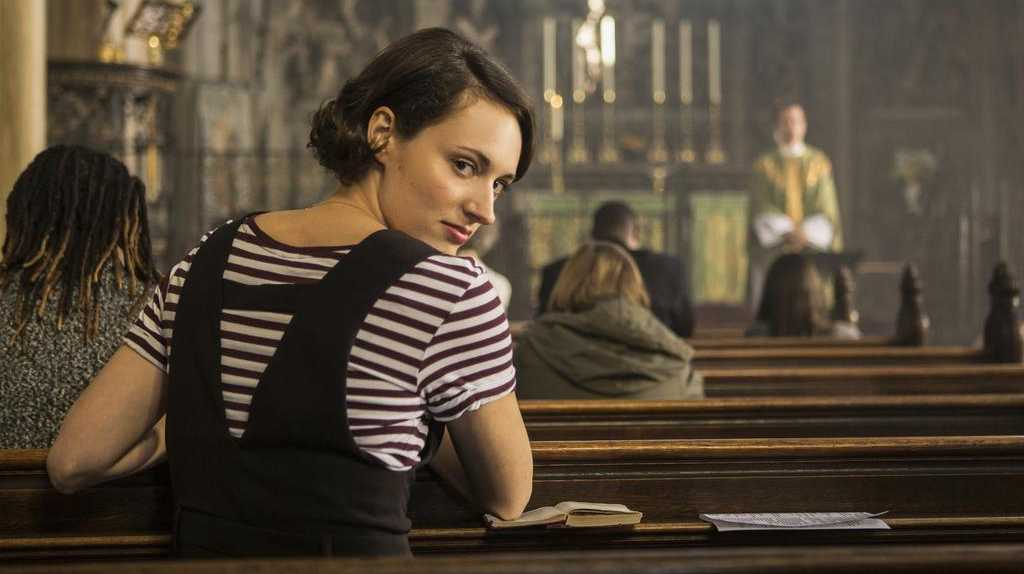 Phoebe Waller-Bridge in the comedy series Fleabag.