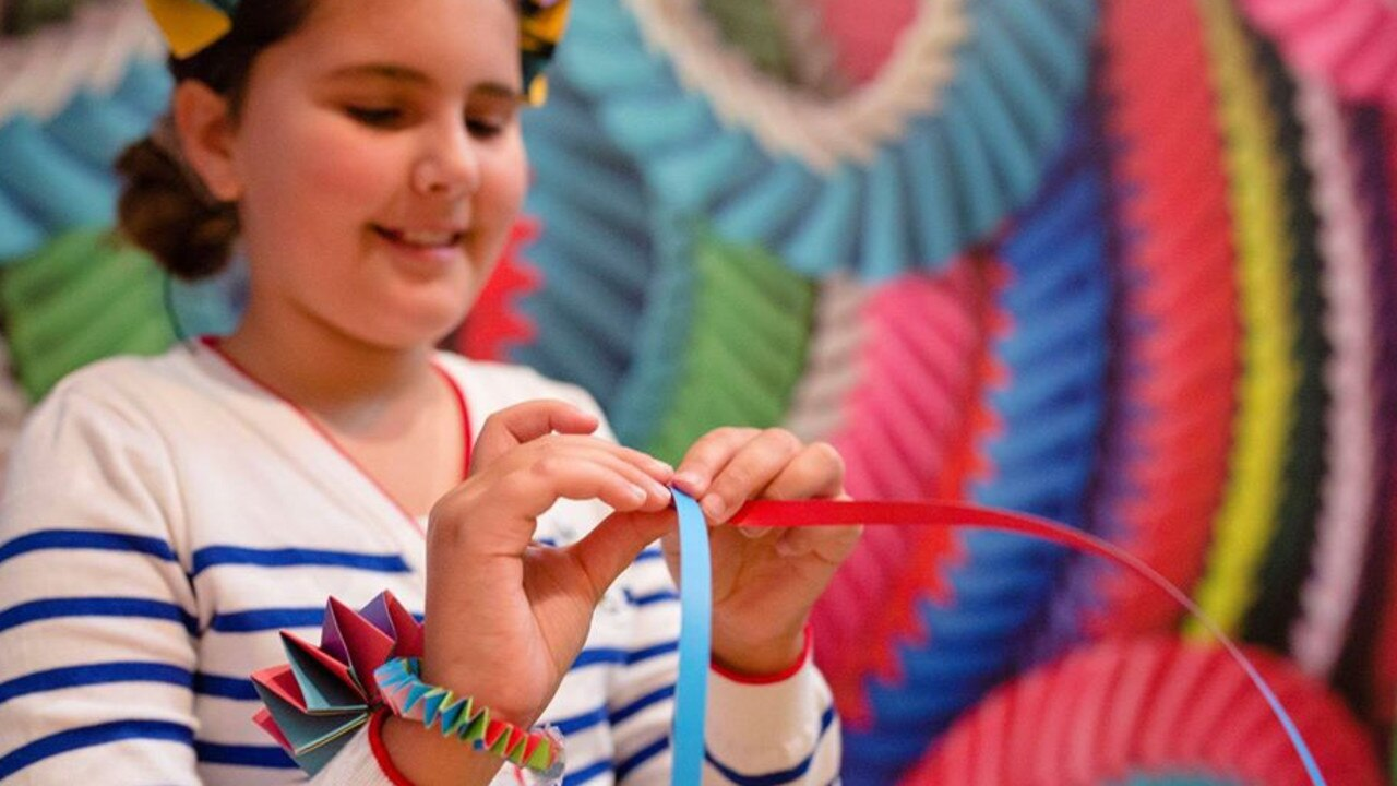 Cooroy will be hosting the Island Fashion on tour art activities workshops.