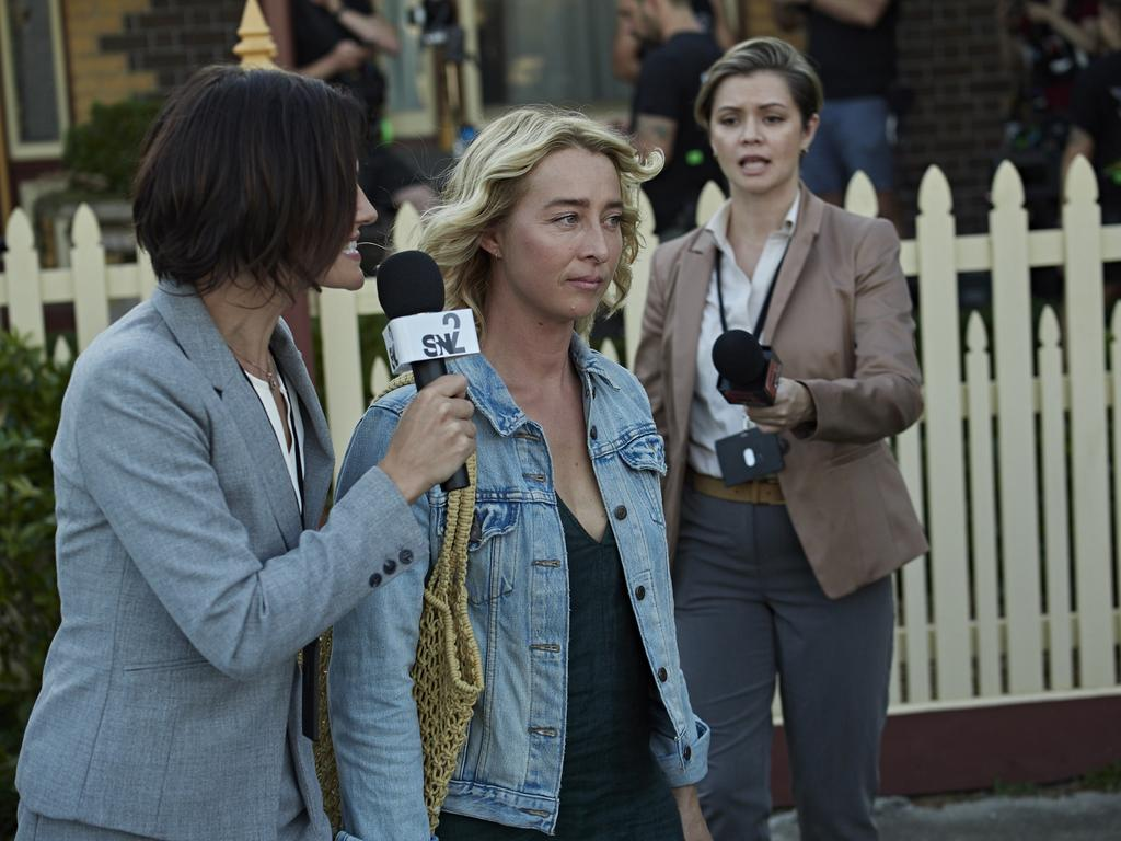 Asher Keddie in the gripping drama series The Cry.