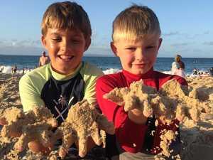 Sunny start to 2020 as beachgoers enjoy Noosa