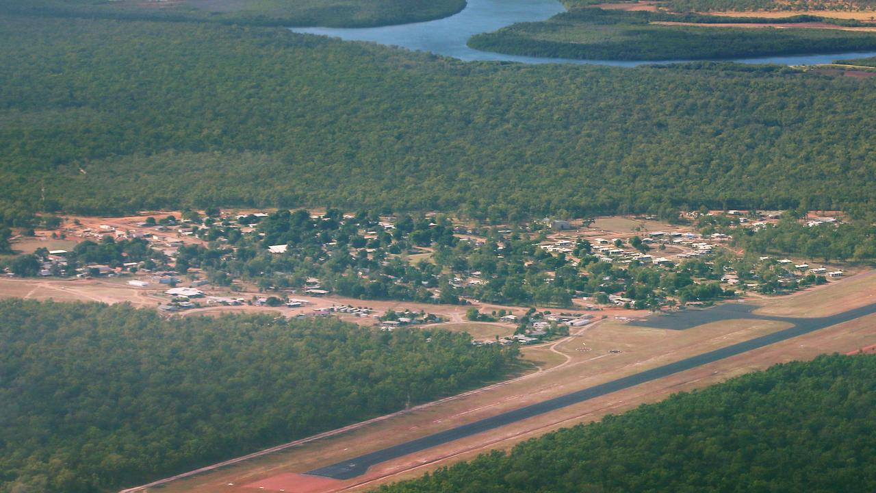 Aerial photo of Aurukun and surrounds. PICTURE: BRENDAN RADKE