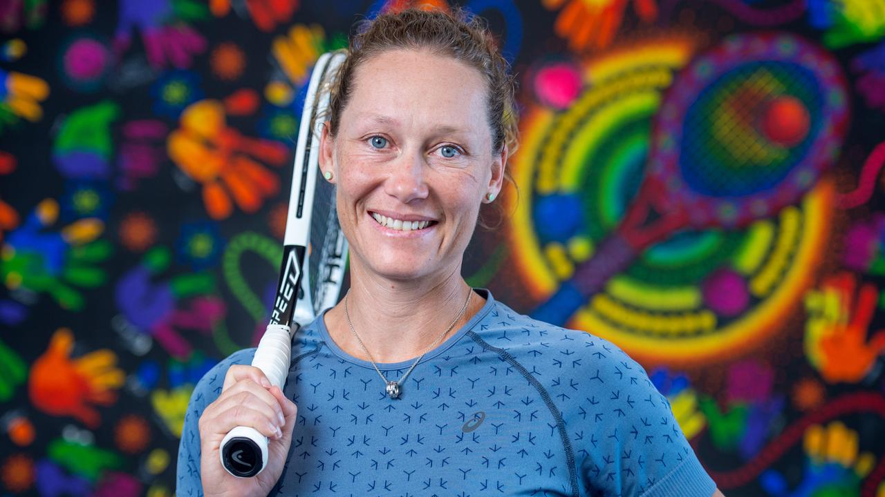 Sam Stosur looking forward to the Australian Open. Picture Jay Town