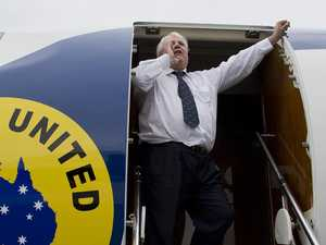 What Clive Palmer's private jet did next