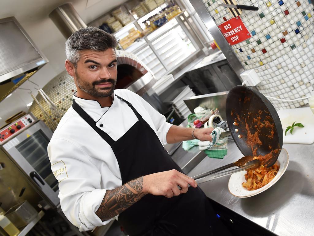 il Vento Restaurant head chef Alex Morelli.