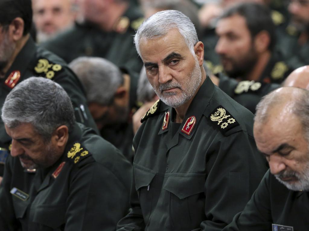 Revolutionary Guard Gen. Qasem Soleimani. Picture: AP