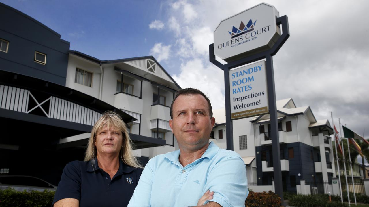 Queens Court Hotel Operation Manager Trisha Clark and owner Zac Sarnecki. PICTURE: ANNA ROGERS